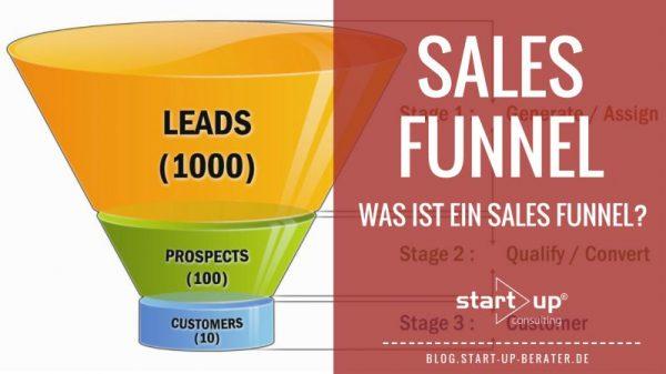 Sales Funnel - Was ist ein Sales-Funnel?