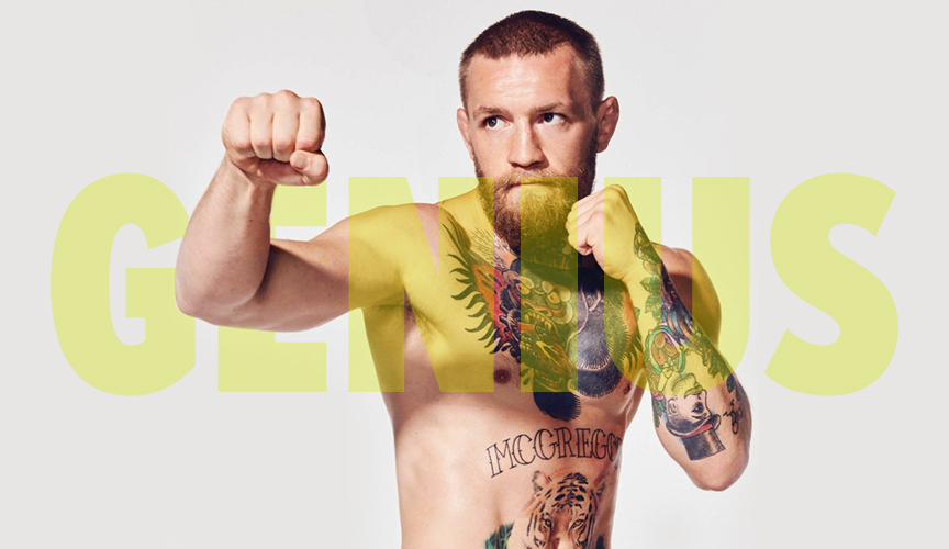 conor mcgregor genius