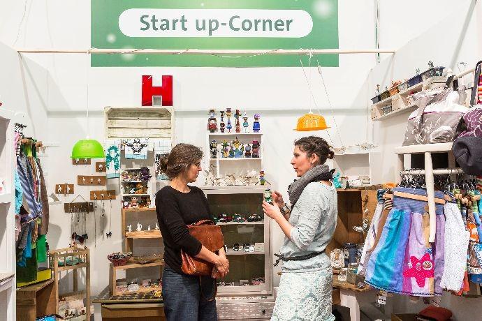 muba 2015 | start up Corner |zweites Design | Impression