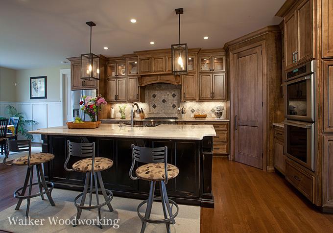 Charlotte Custom Cabinets Walker Woodworking NC Design Online