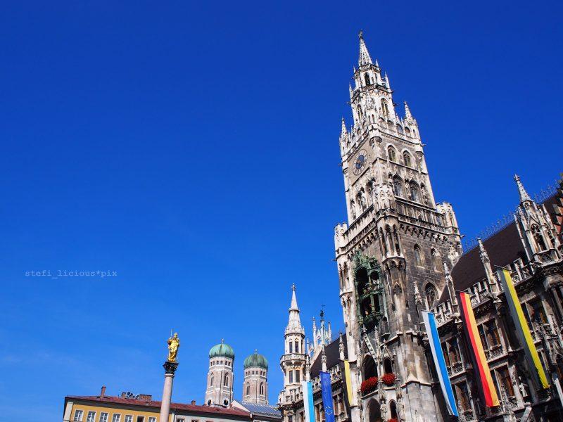 blick auf rathaus und marienkirche in muenchen_stefilicious_2015