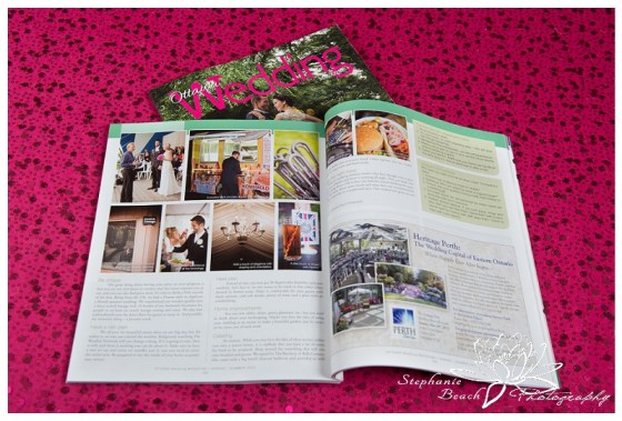 Ottawa Wedding Magazine Stephanie Beach Photography