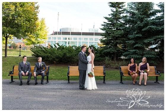 Confederation Park Wedding Photography Stephanie Beach Photography