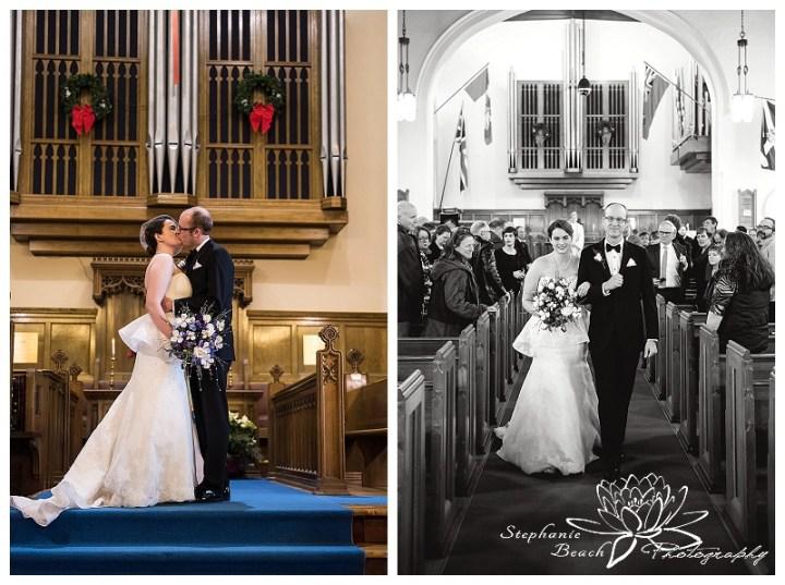 Smiths Falls Winter Wedding Stephanie Beach Photography