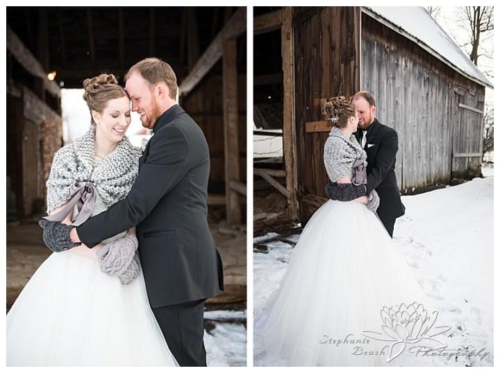 Brockville-Country-Club-Wedding-Stephanie-Beach-Photography-Winter