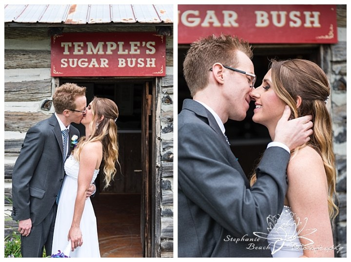 Temple's Sugar Bush Wedding Stephanie Beach Photography 59