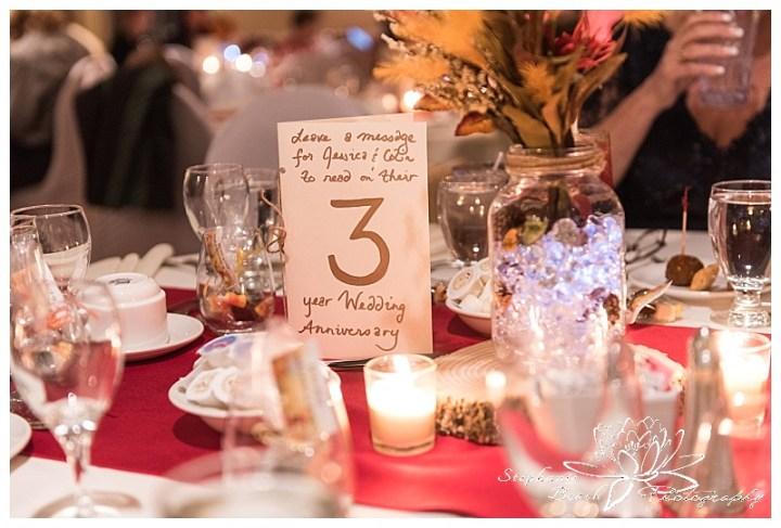 Cornwall-Ramada-Inn-Williamstown-Fairgrounds-Wedding-Stephanie-Beach-Photography-reception-centrepiece-centerpiece