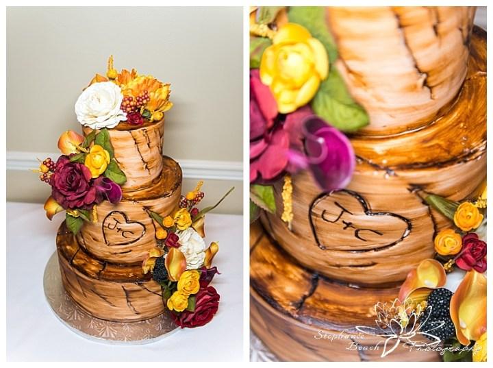 Cornwall-Ramada-Inn-Williamstown-Fairgrounds-Wedding-Stephanie-Beach-Photography-reception-cake