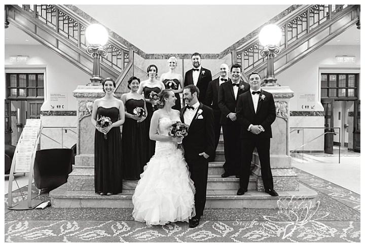 museum-of-nature-ottawa-wedding-stephanie-beach-photography-bridesmaids-groomsmen-bride-groom