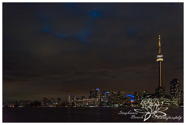 Toronto-Island-Wedding-Stephanie-Beach-Photography-skyline-night-ferry