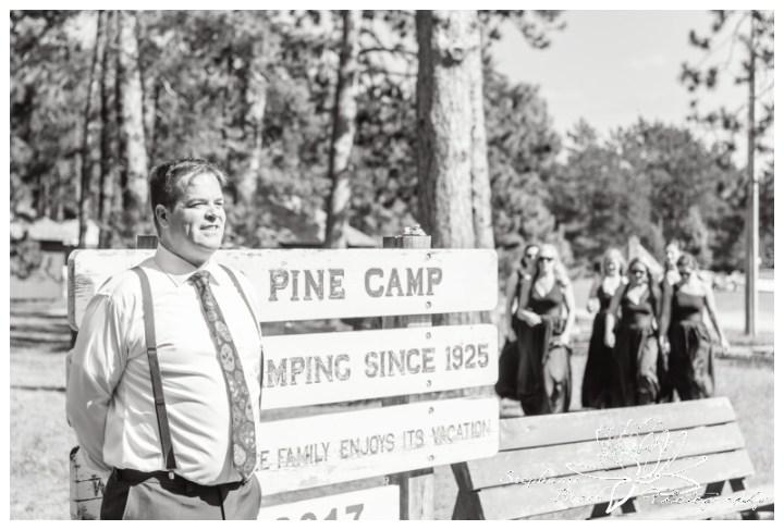 Red Pine Camp Golden Lake Wedding Stephanie Beach Photography 14