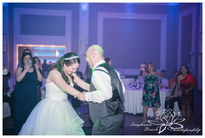 Infinity-Centre-Ottawa-Wedding-Stephanie-Beach-Photography-reception-dancing-bride-groom