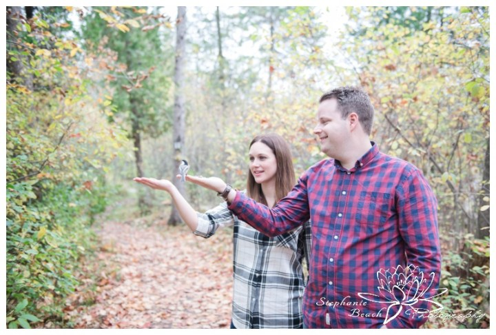Jack-Pine-Trail-Engagement-Session-Stephanie-Beach-Photography-fall-colours-bird-feeding