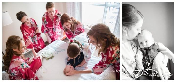 Strathmere-Lodge-Wedding-Stephanie-Beach-Photography-prep-bride-bridesmaids-baby