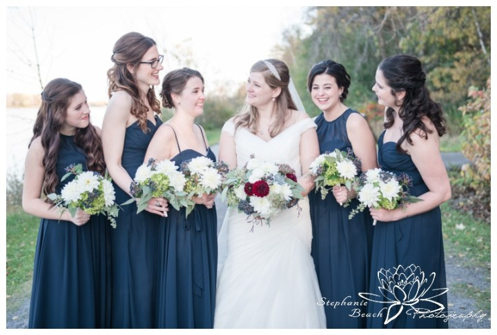 Ottawa-Fall-Wedding-Stephanie-Beach-Photography-bride-bridesmaids-portrait-bouquet-rebel-petal