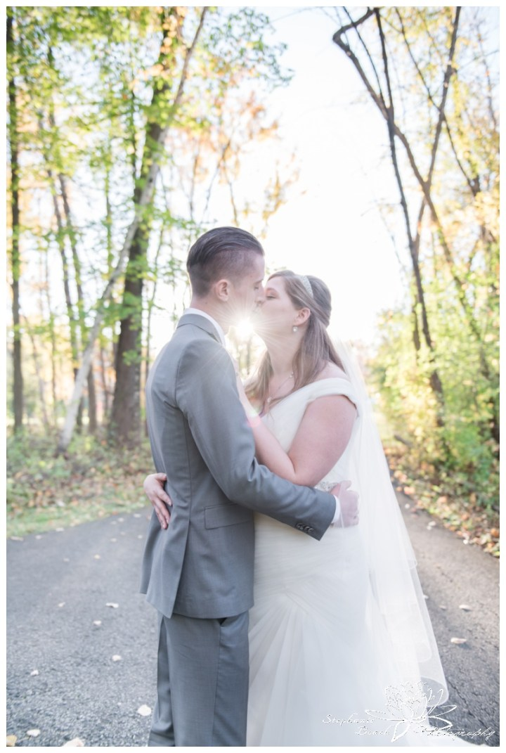 Ottawa-Fall-Wedding-Stephanie-Beach-Photography-bride-groom-sunflare-portrait