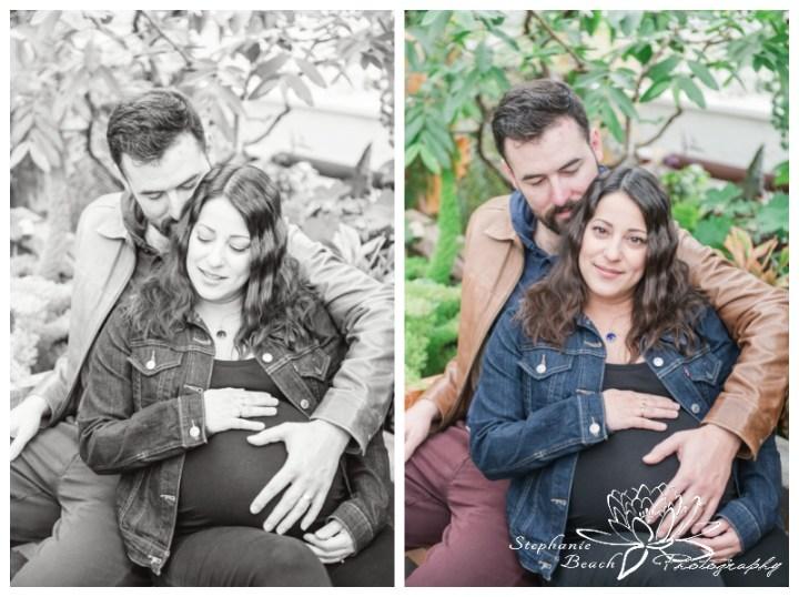 Ornamental-Gardens-Greenhouses-Maternity-Session-Stephanie-Beach-Photography