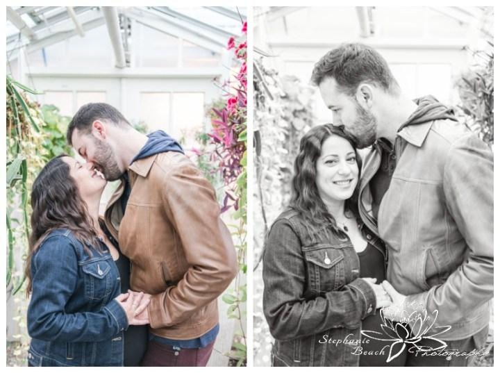 Ornamental Gardens Greenhouses Maternity Session Stephanie Beach Photography 13