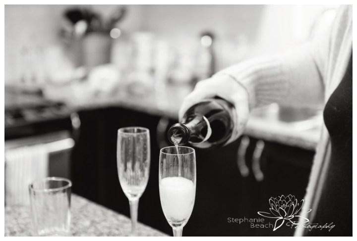 Ottawa-Fall-Backyard-Wedding-Stephanie-Beach-Photography-bride-prep-champagne