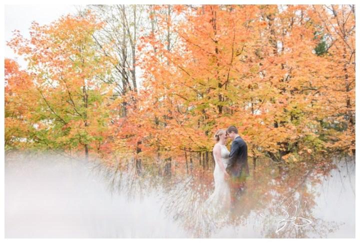 Ottawa-Fall-Backyard-Wedding-Stephanie-Beach-Photography-prism-reflection-leaves-maple