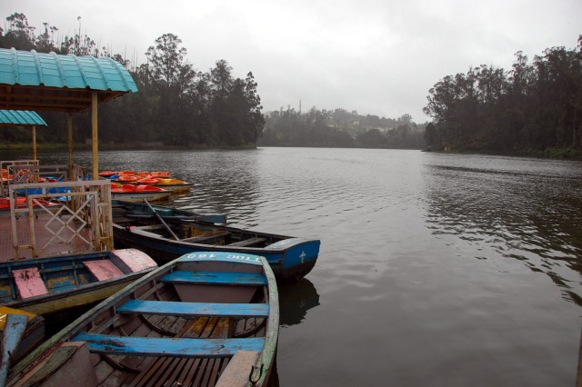 Image Name-Ooty Lake and Boat House