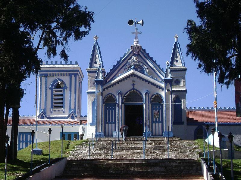 mother salette church - mother salette festival