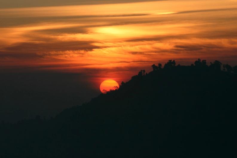 Tiger Hill in Darjeeling India