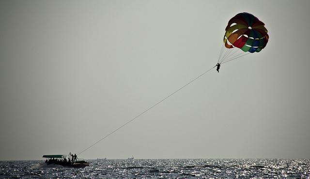 Parasailing in Goa Beach - Adventerous Sports in Goa