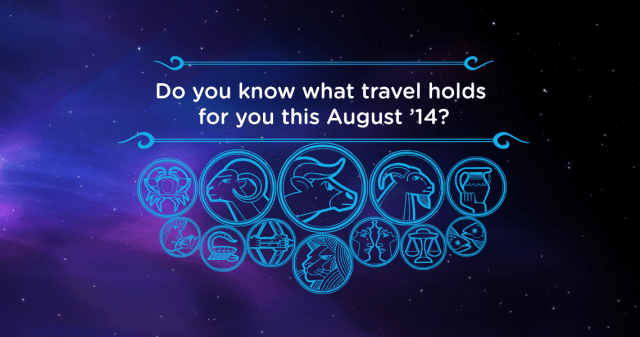 Travel Horoscope August 2014