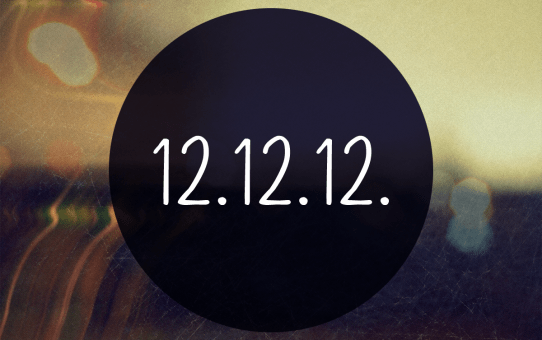 Day of the Decade - 12/12/12