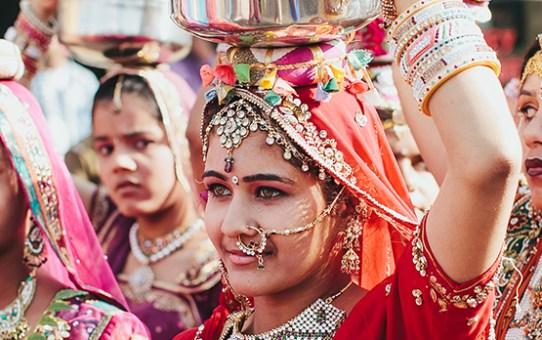 Celebrate Love at the Joyful Gangaur Festival in Rajasthan!
