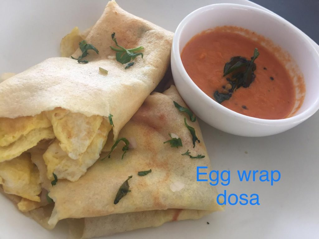egg wrap dosa at sterling corbett