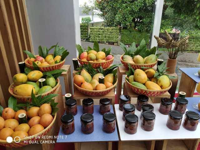 mango pickle at sterling kodai valley