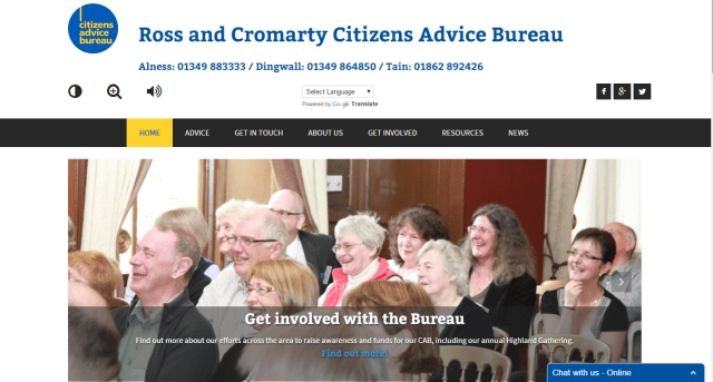 Ross & Cromarty Citizens Advice Bureau