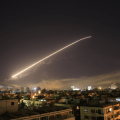 missiles near damascus