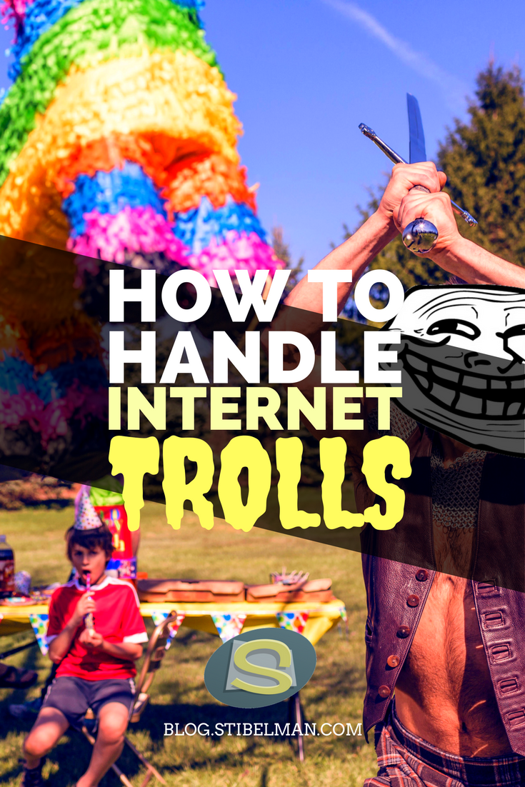 How to handle internet Trolls