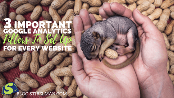 Important Google Analytics Filters help you clean up the data you see Which is crucial when you want to analyze your data correctly. Here are my top 3 important Google Analytics filters you should set up for every new website.