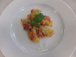 Ravioli mit Tomatenbutter