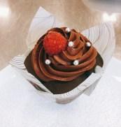 Schokoladen-Himbeer-Cupcake