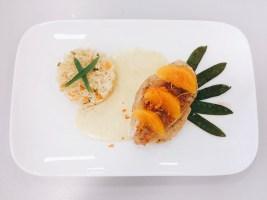 Hähnchenbrust mit Orangensauce