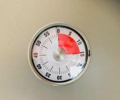 dann bei 180 °C etwa 15 bis 20 Minuten
