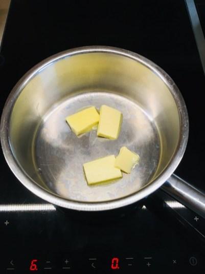 Butter schmelzen