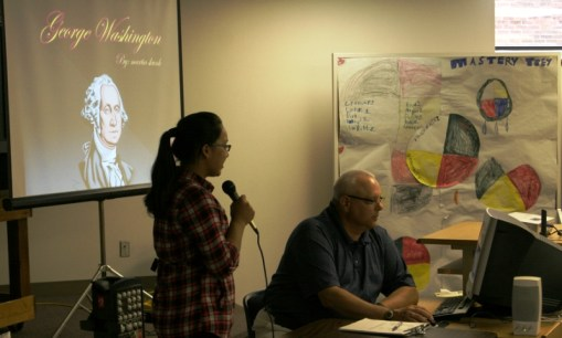 St. Joseph's Lakota youth presentations