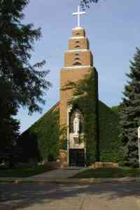 This is our Lady of the Sioux Chapel in full blossom!