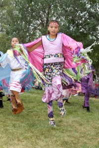 The Lakota (Sioux) dancers were great at our powwow!