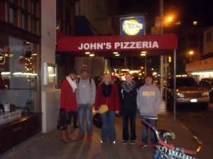 Everyone loved John's Pizzeria!