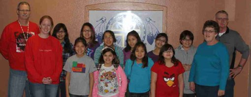 The Lakota (Sioux) girls in the William Home have had a great year!
