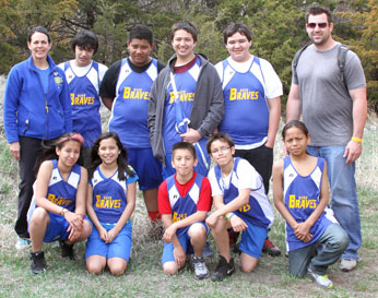 In addition to track, St. Joseph's Native American students participate in football, volleyball and basketball.