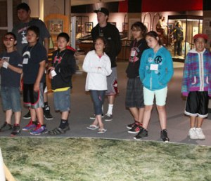 Visiting the Akta Lakota Museum & Cultural Center is a great educational experience for the Native American children who attend day camp.