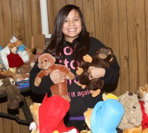 St. Joseph's Christmas store allows the Lakota children to share a gift with their families.